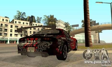 Mazda RX-7 FD3S für GTA San Andreas rechten Ansicht