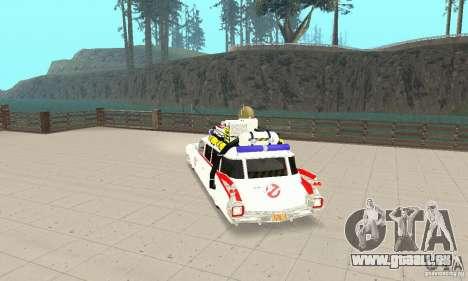 Ghostbusters ECTO 1 pour GTA San Andreas laissé vue