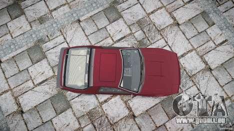 Mazda RX7 FC3S pour GTA 4 est un côté