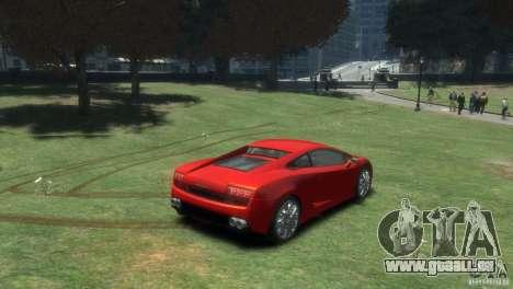 Lamborghini Gallardo LP 560-4 pour GTA 4 Vue arrière de la gauche