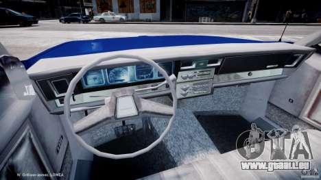Chevrolet Impala Police 1983 [Final] pour GTA 4 Vue arrière