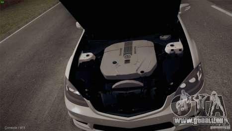 Mercedes-Benz S65 AMG pour GTA San Andreas vue de côté