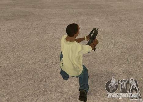 Famas-F1 pour GTA San Andreas troisième écran