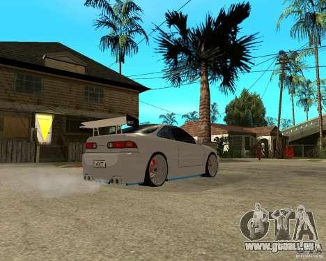 Honda Integra TUNING für GTA San Andreas Rückansicht