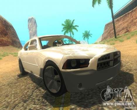 Dodge Charger 2011 für GTA San Andreas Innen