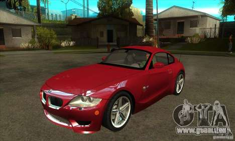 BMW Z4 - Stock für GTA San Andreas