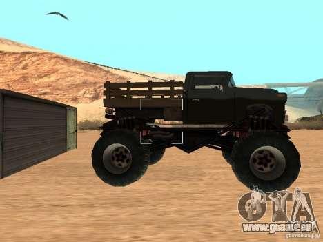 Walton Monster pour GTA San Andreas laissé vue