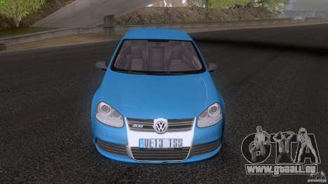 VW Golf 5 R32 2006 StanceWorks für GTA San Andreas zurück linke Ansicht