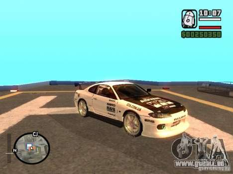 NISSAN Silvia S15 RFteam drifters für GTA San Andreas rechten Ansicht