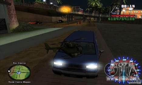RC mod pour GTA San Andreas quatrième écran
