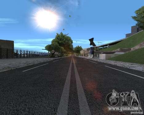 Nouvelles routes pour GTA San Andreas deuxième écran