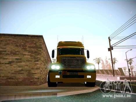 Freightliner Century Classic für GTA San Andreas Innenansicht
