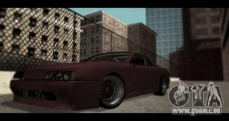 Roues de Pak JDM pour GTA San Andreas troisième écran