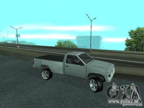 Nissan Pick-up D21 für GTA San Andreas Seitenansicht