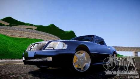 Mercedes SL 500 AMG 1995 für GTA 4 Rückansicht