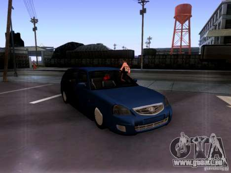 Lada Priora berline pour GTA San Andreas