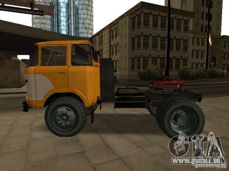 KAZ 608 pour GTA San Andreas laissé vue