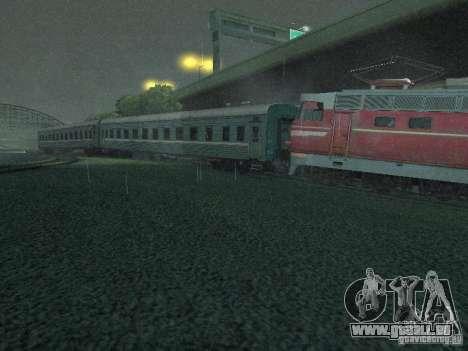Interrupteur rail shooter pour GTA San Andreas quatrième écran