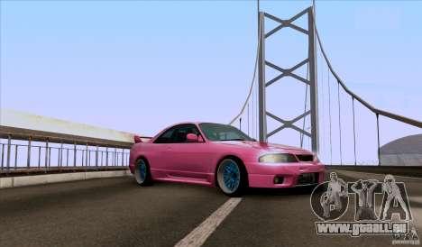 Nissan Skyline GTR 33 Fatlace pour GTA San Andreas