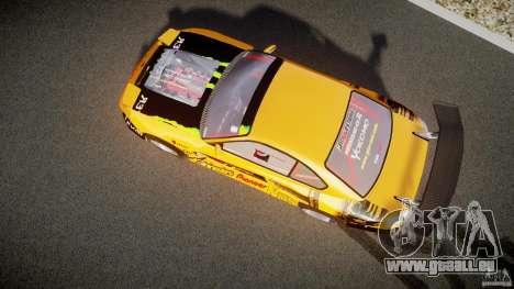 Nissan S330SX GT Drift Texture pour GTA 4 est une vue de l'intérieur