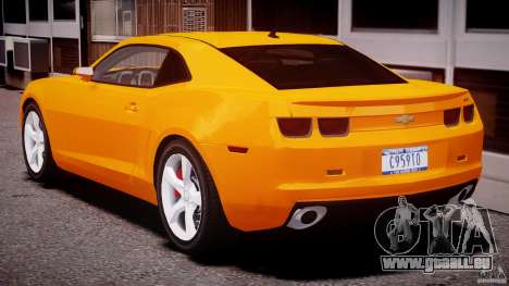 Chevrolet Camaro SS 2009 v2.0 für GTA 4 Unteransicht