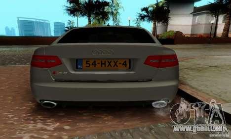 Audi RS6 2009 pour GTA San Andreas vue de côté