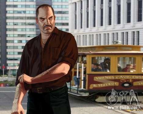 Écran de démarrage à San Francisco pour GTA 4 troisième écran