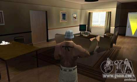 CJ Total House Remode pour GTA San Andreas deuxième écran