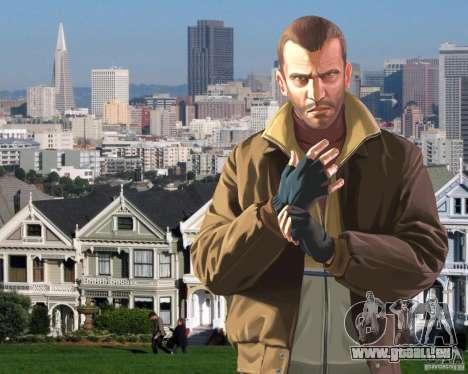 Écran de démarrage à San Francisco pour GTA 4 quatrième écran