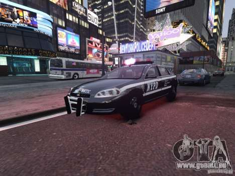 Chevrolet Impala 2006 NYPD Traffic für GTA 4
