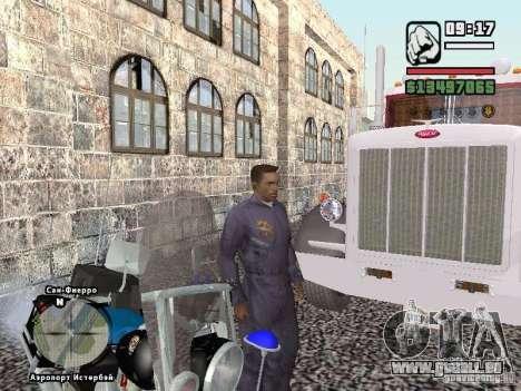 Helmet mod pour GTA San Andreas cinquième écran