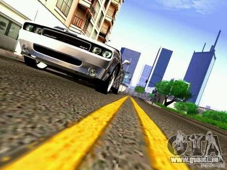Dodge Challenger SRT8 2009 für GTA San Andreas obere Ansicht