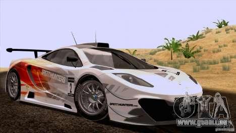 McLaren MP4-12C Speedhunters Edition pour GTA San Andreas vue arrière
