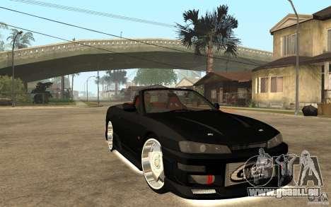 Nissan S14 HellaFlush pour GTA San Andreas vue arrière