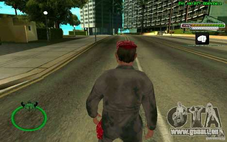 Mechanik HD Skin pour GTA San Andreas troisième écran