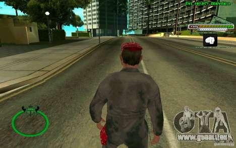Mechanik HD Skin für GTA San Andreas dritten Screenshot