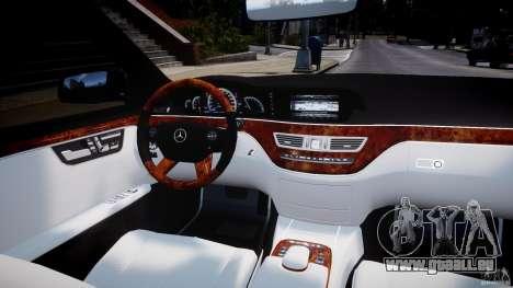 Mercedes-Benz S63 AMG [Final] pour GTA 4 Salon