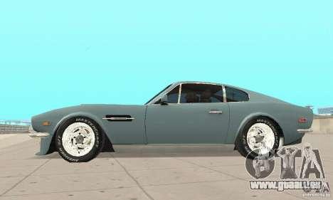 Aston Martin V8 für GTA San Andreas rechten Ansicht