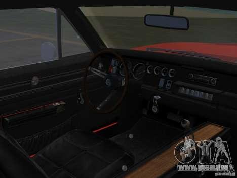 Dodge Charger 426 R/T 1968 v2.0 pour une vue GTA Vice City de la droite