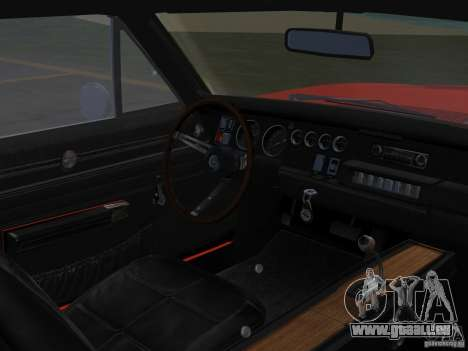 Dodge Charger 426 R/T 1968 v1.0 für GTA Vice City Rückansicht