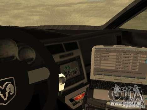 Dodge Charger Canadian Victoria Police 2011 für GTA San Andreas Seitenansicht