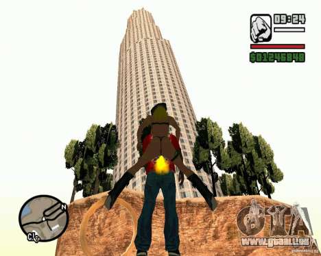 La tour de Pise pour GTA San Andreas troisième écran
