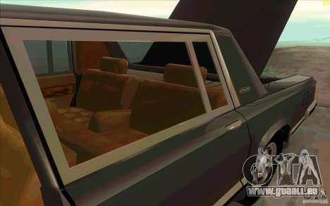 ZIL 41041 für GTA San Andreas obere Ansicht