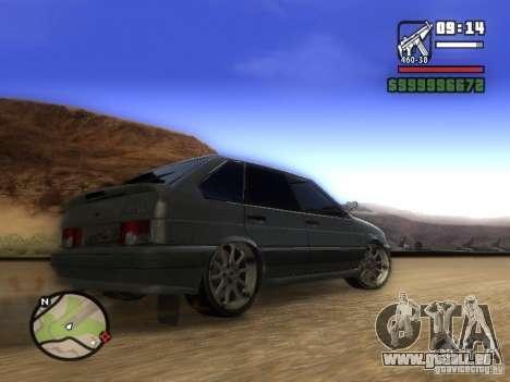 ВАЗ 2114 Tuning für GTA San Andreas rechten Ansicht