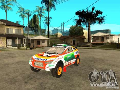 Mitsubishi Racing Lancer from DIRT 2 pour GTA San Andreas