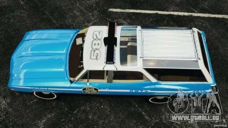 Oldsmobile Vista Cruiser 1972 Police v1.0 [ELS] für GTA 4 rechte Ansicht