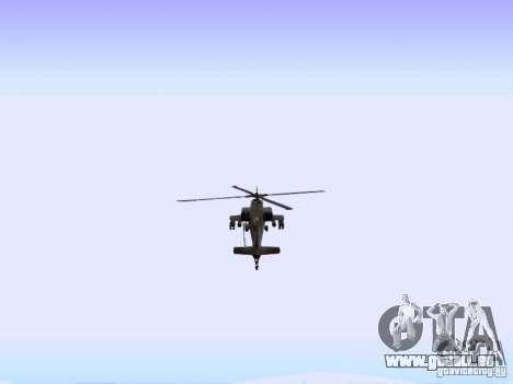 HD Hunter pour GTA San Andreas vue de droite