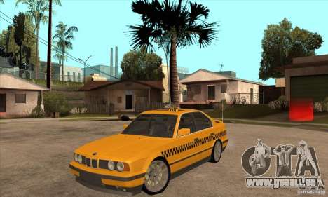 BMW E34 535i Taxi pour GTA San Andreas