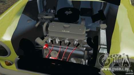 Mini Cooper pour GTA 4 est une vue de l'intérieur