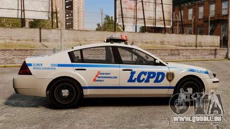 Polizei Pinnacle ESPA für GTA 4 linke Ansicht